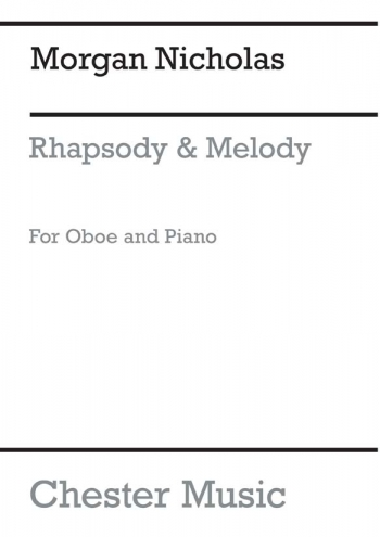 2 Pieces Melody  Rhapsody: Oboe & Piano (Chester)