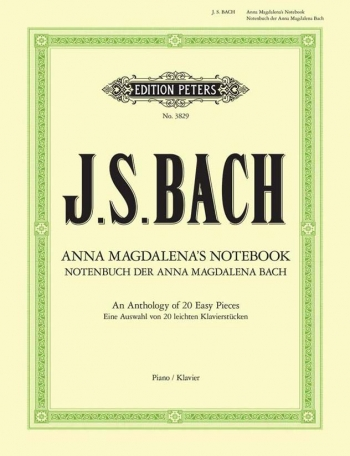 Anna Magdalena Bach Notebook: Piano (Peters)