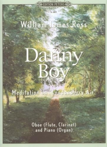 Danny Boy: Meditation On Londonderry Air: Clarinet & Piano (Peters)