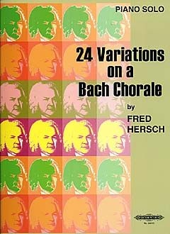 24 Variations On A Bach Chorale: Piano (Peters)