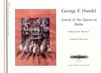Arrival Of The Queen Of Sheba: Piano Duet