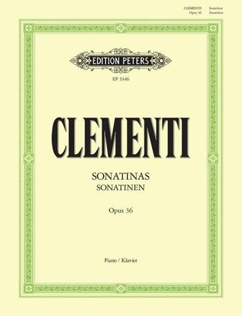 Sonatinen Op.36: Piano (Peters)