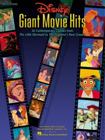 Disney Giant Movie Hits: Big Note: Piano Vocal Guitar