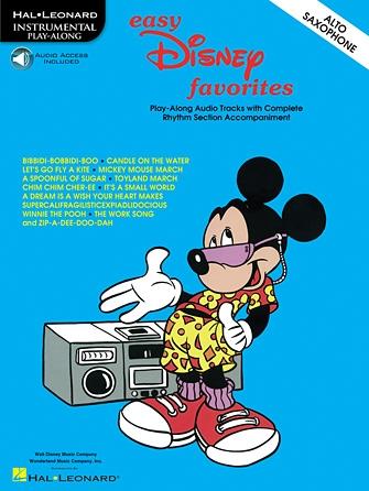 Disney: Easy Disney Favorites: Alto Sax