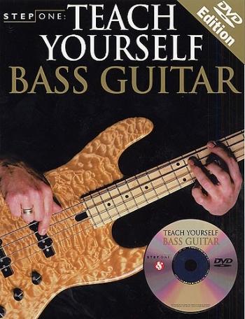 Step One: Teach Yourself Bass Guitar: Book & CD