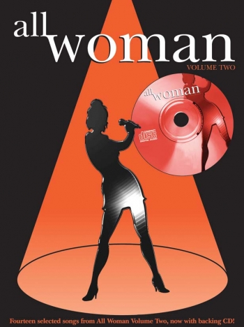 All Woman: 2: Piano Vocal Guitar: Bk&cd