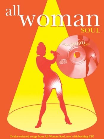 All Woman Soul: Piano Vocal Guitar: Bk&cd