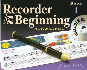 Recorder From The Beginning Book 1 Pupils Book: Book & Cd: Descant Recorder