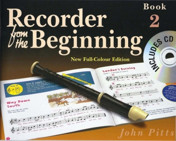Recorder From The Beginning Book 2: Pupils Book: Descant Recorder Book & Cd