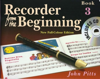 Recorder From The Beginning Book 3: Pupils Book: Book & Cd Descant Recorder