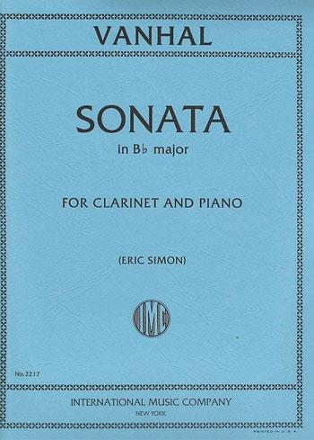 Sonata: Bb Major: Clarinet & Piano (International)