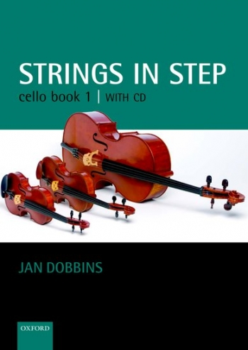 Strings In Step: Cello: Book 1: Book & CD  (Oxford)