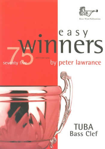 Easy Winners: Tuba Bass Clef: Book Only   (Lawrance)