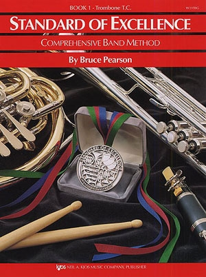 Standard Of Excellence: Comprehensive Band Method Book 1 Trombone Treble Clef