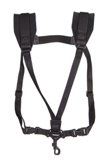 Neotech Regular Saxophone Soft Harness - Swivel Hook - Black