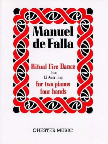 Ritual Fire Dance (El Amor Brujo): 2 Pianos 4 Hands