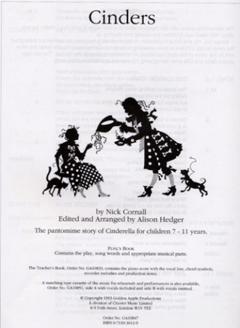 Cinders-Pupils Book-Vocal-Cantata-Ks2
