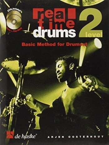 Real Time Drums: Level 2: Basic Method For Drumset