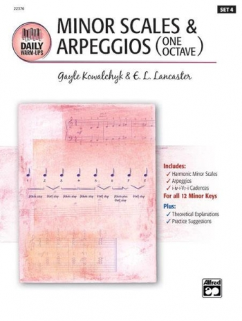 Daily Warm Ups-set 4: Minor Scales and Arpeggios: Chords