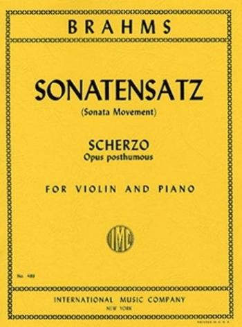 Sonatensatz Scherzo: Violin and Piano (International)