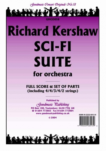 Orchestra: Kershaw Sci-fi Suite Orchestra Score And Parts
