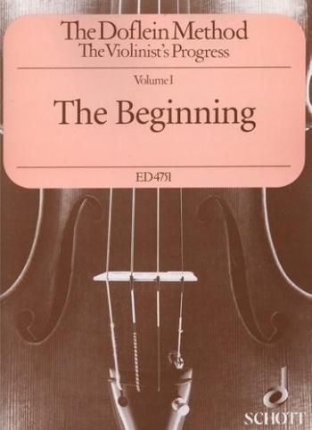 Doflein Method Violin Vol.1 The Violinist's Progress. The Beginning