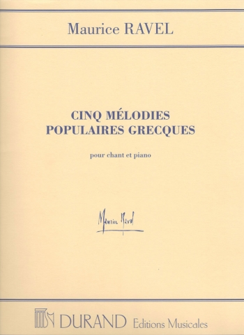Quel Galant: 5 Greek Melodies: Med Voice