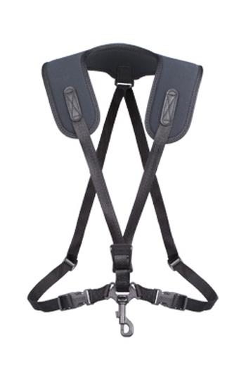 Neotech Regular Saxophone Super Harness - Swivel Hook - Black