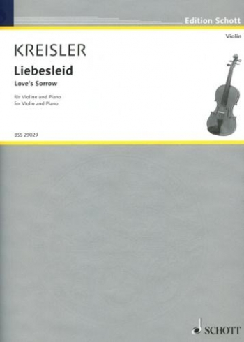Liebesleid: Violin and Piano