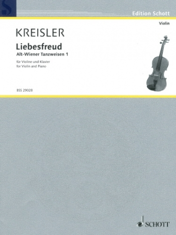 Liebesfreud: Violin and Piano