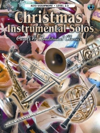 Christmas Instrumental Solos Alto Saxophone: Book & CD