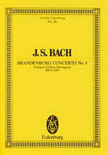 Brandenburg Concerto No.4: Bwv1049