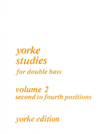 Studies: Vol.2: Double Bass  (2nd: 4th Position)
