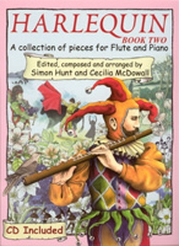 Harlequin: Vol.2: Flute: Book & CD  (Hunt & Mcdowall)