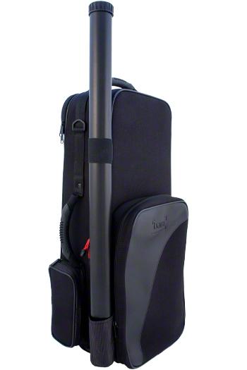 Bam Trekking Violin Case - Black