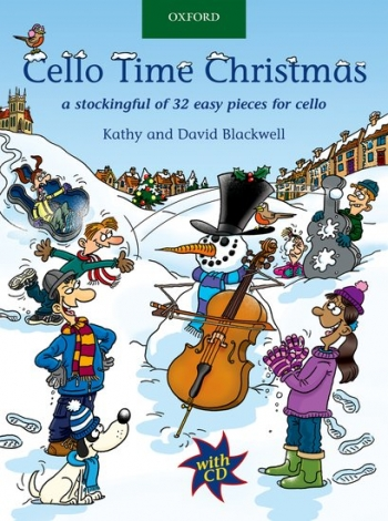 Cello Time Christmas: Book & CD (Blackwell)  (Oxford)