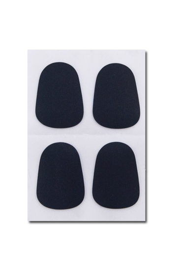 A&S Mouthpiece Patches 0.8mm (Black) Pack Of 4