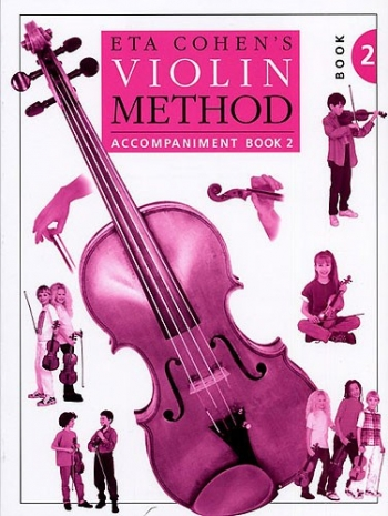 Eta Cohen: Violin Method Book 2: Piano Accompaniment