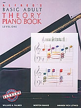 Alfred Adult Basic Piano Theory Book: Level 1