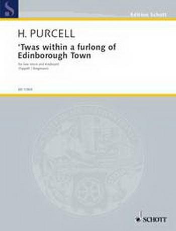 Twas Within A Furlong Of Edinburgh: Vocal: Unis