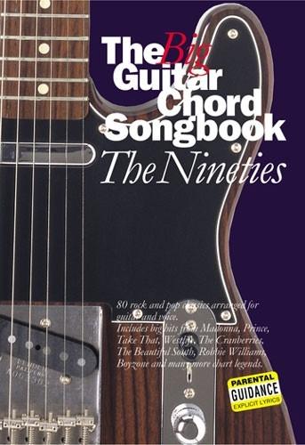 Big Guitar Chord Songbook: The Nineties: 90s