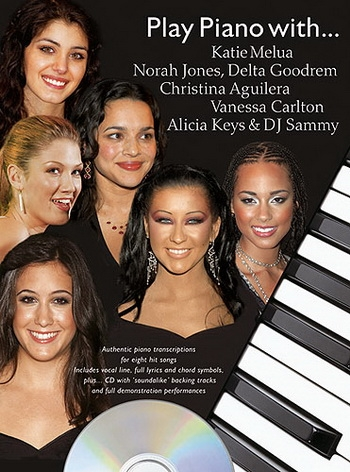 Play Piano With Melua, Jones, Goodrem Etc - Piano - Bk&cd