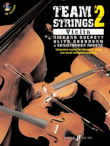 Team Strings Violin 2 Book & Cd