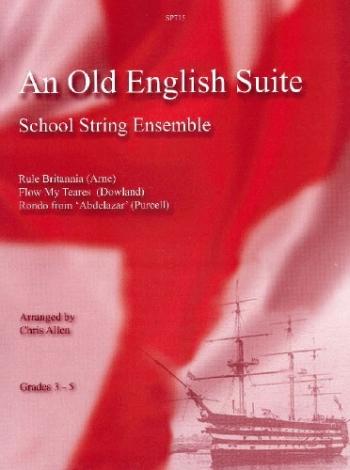 Flexible String Ensemble: Old English Suite: String Ensemble: Score and Parts (Allen)
