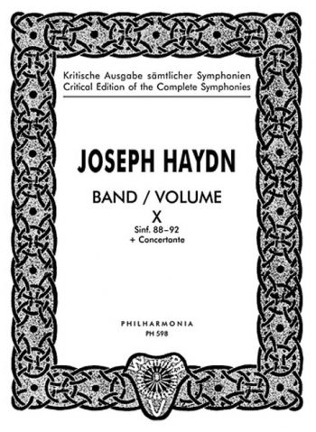 Symphonies No.88-92: Vol.10: Miniature Score