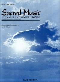 Sacred Music: 26 Hymns And Gospels: Solo and Duet