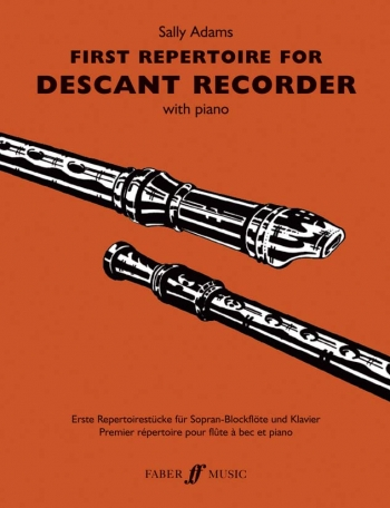 First Repertoire: Descant Recorder and Piano