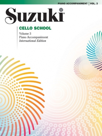 Suzuki Cello School Vol.3 Piano Accompaniment