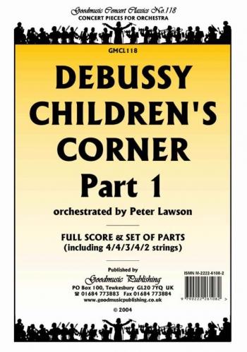 Debussy: Childrens Corner Part 1: Orchestra Score & Parts (Arr Lawton)