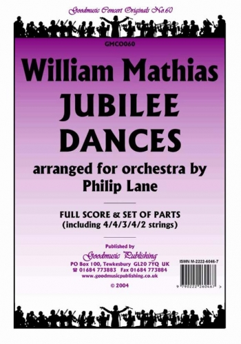 Jubilee Dances:  Orchestra Score & Parts (Arr lane)